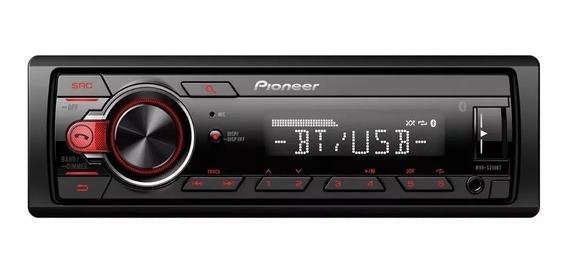 Estereo Pioneer Mvh S215 Bluetooth Aux Usb Instalacion Grts