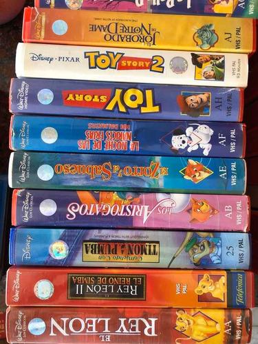 Colección Vhs Películas Clásicos De Disney