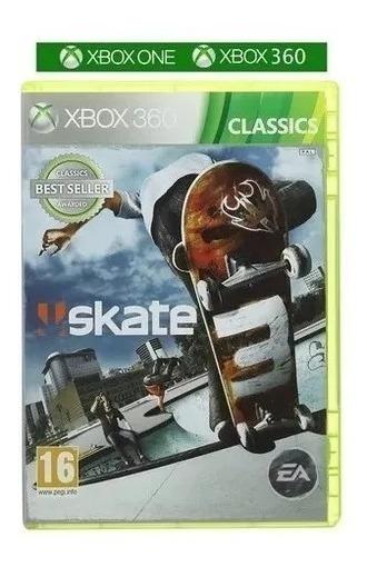 Jogo Skate 3 Xbox 360 Física Original Lacrado Frete Grátis