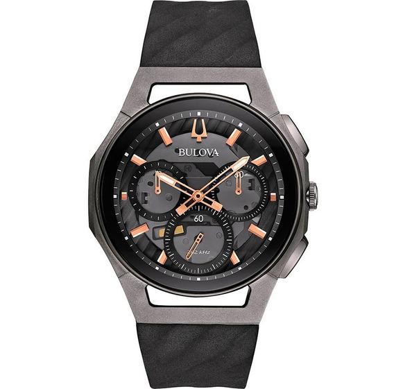 Reloj Bulova Curv Para Hombre Original Cronográfo 98a162