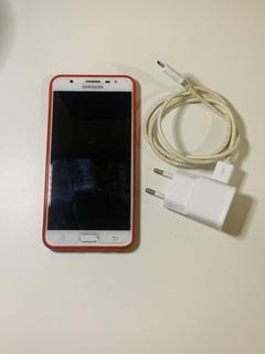 Samsung Galaxy J7 Prime Duos Dourado, Com Leitor Biométrico.