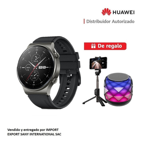 Huawei Smartwatch Gt2 Pro + Tripode Y Parlante Bluetooth