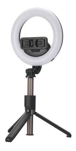 Ring Light 6' 16cm Iluminação Profissional Led Selfie Tripé