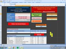Sistema Para Inventarios De Supermercado Y Pequeños Negoc
