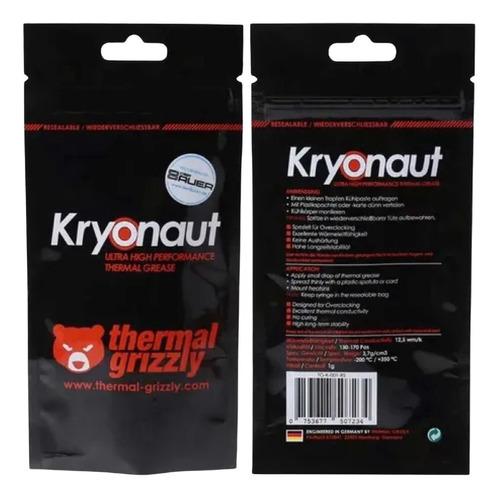 Imagem 1 de 9 de Thermal Grizzly Kryonaut 1g