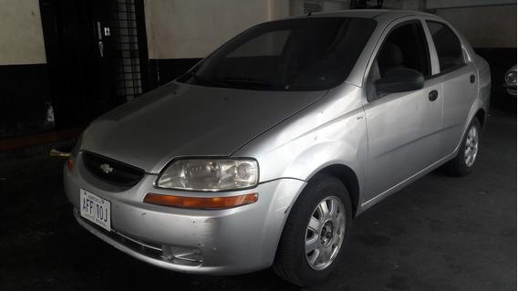 Chevrolet Aveo 1.6l 2005 Plateado 4 Puertas