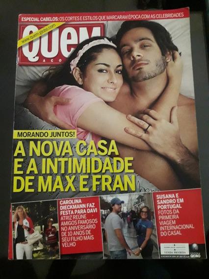 Revista Quem N°454 - Carolina Dieckmann, Susana Vieira