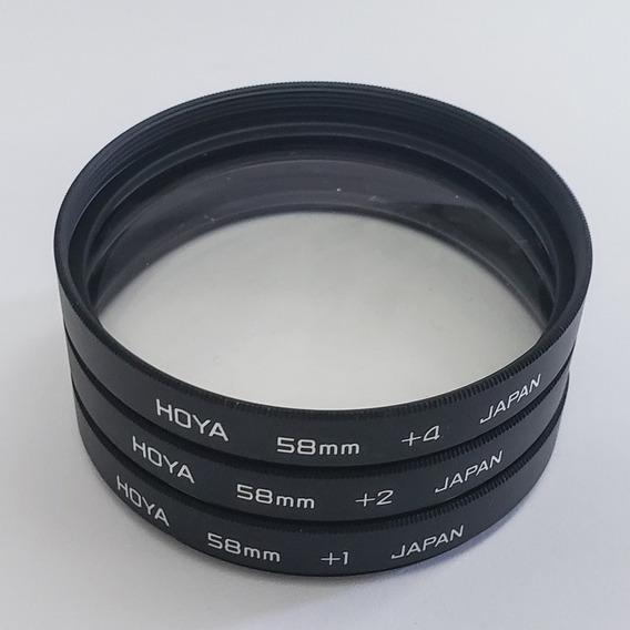 Kit Filtros Hoya 58mm Close Up