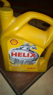 Aceite Lubricante Shell 20w50 Mineral Galon