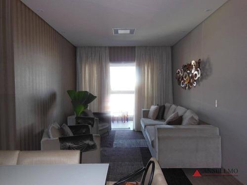 Apartamento À Venda, 110 M² Por R$ 900.000,00 - Centro - São Bernardo Do Campo/sp - Ap1323