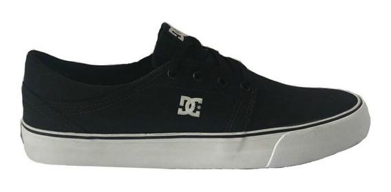 Tenis Dc Shoes Trase Tx Preto Branco 10383 Original