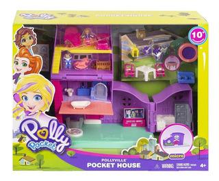 Polly Pocket - Casa Miniatura - Mattel Gfp42