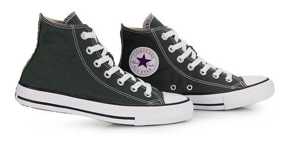 Converse All Star Core Hi Bota Cano Alto Verde