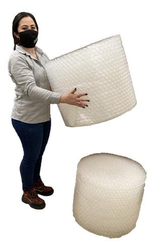 P Dos Rollos Plástico Burbuja Bomba Grande De 50cm X 25m