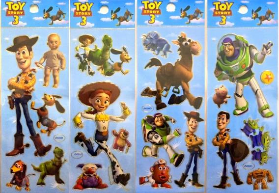 Stickers Infantiles Personajes X 20 Planchas Souvenir Calcos