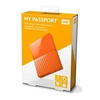 Dd Externo Portatil 3tb Wd My Passport Naranja 2.5/usb3.0/co
