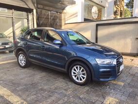 Audi Q3 1.4 Tfsi Attraction 2015/2016 Azul 28mkms Blindado