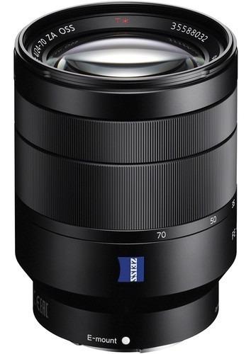 Lente Sony Vario-tessar T* Fe 24-70mm F/4 Za Oss Sem Juros