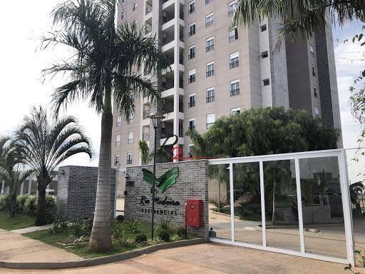 Apartamento Para Vende E Locação, Condomínio Rio Madeira Sumaré. - Ap0680