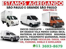 Agrega-se Vans Iveco Ducato Fiorino Doblo Furgão C/ Contrato