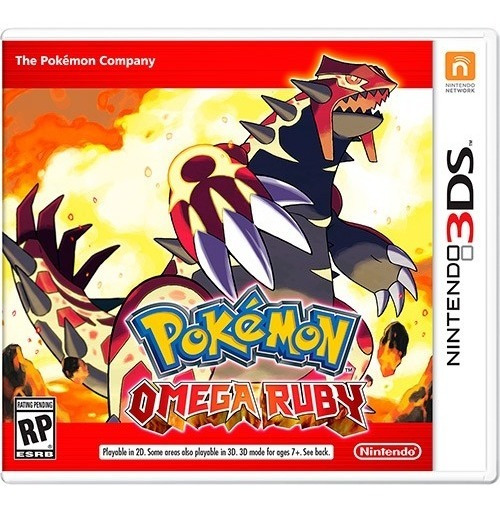 Pokemon Omega Ruby 3ds - Semi Novo! M.fisica!