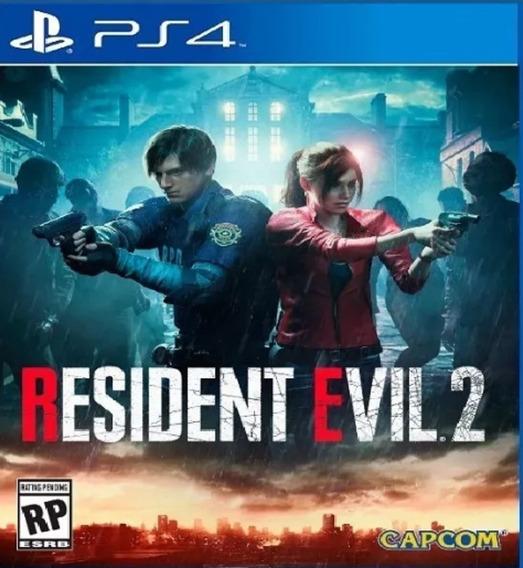 Resident Evil 2 Remake Ps4 - Leia A Descrição Do Anuncio -