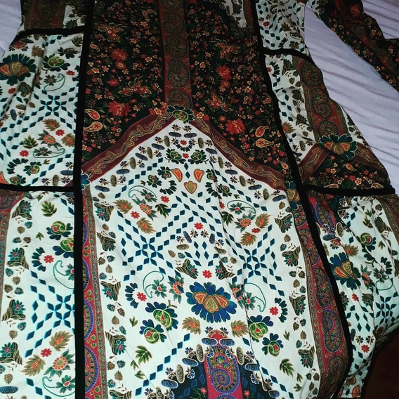 Vestido Floral, Wool Line, G. Super Estiloso