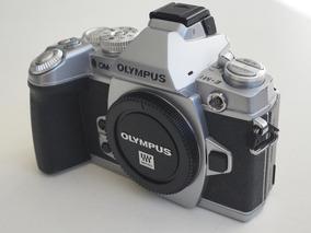 Camera Profissional Mirrorless Olympus Omd Em1 Silver Prata