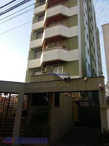 Apartamento À Venda, 98 M² Por R$ 370.000,00 - Jardim Higienópolis - Londrina/pr - Ap0287