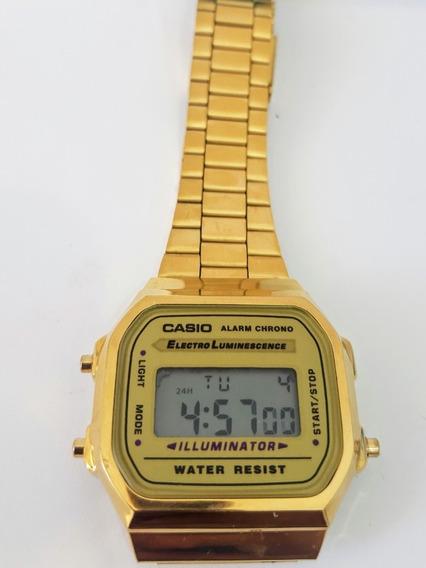 Reloj Casio Dorado Vintage A168