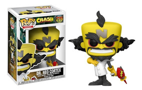 Boneco Funko Pop! Crash - Dr. Neo Cortex - 276