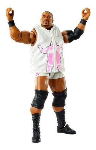 Imagen 1 de 4 de Figura Wwe Mattel Elite Luchador Keith Lee El Ilimitado