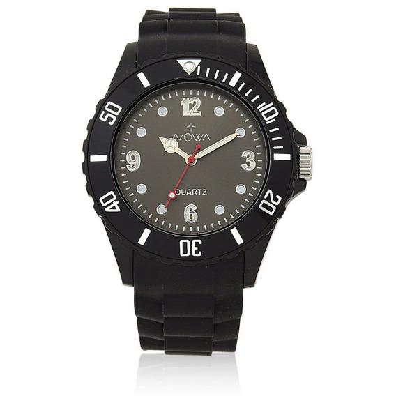 Relógio Nowa Preto Nw0521pk Original Com Nf