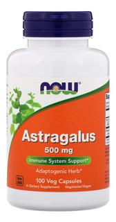 Astragalus 500mg 100 Caps. Now Foods Equilíbrio Do Estresse