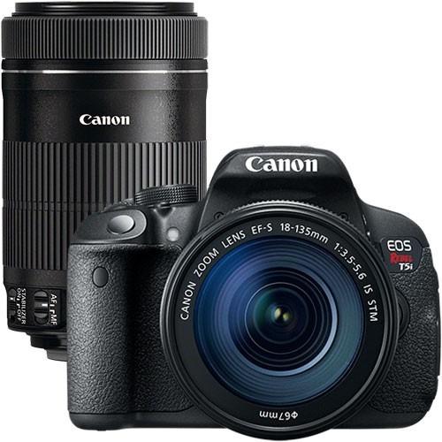 Canon T5i Kit 18-135mm + Bolsa