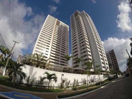 Apartamento À Venda, 144 M² Por R$ 858.830,99 - Bairro Dos Estados - João Pessoa/pb - Ap0025