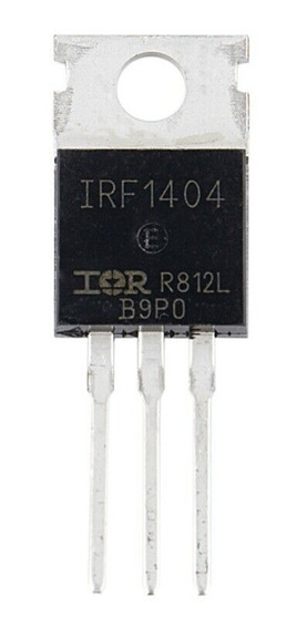 Kit X6 Transistor Mosfet Canal N Irf1404 Ifr1404pbf 40v 202a