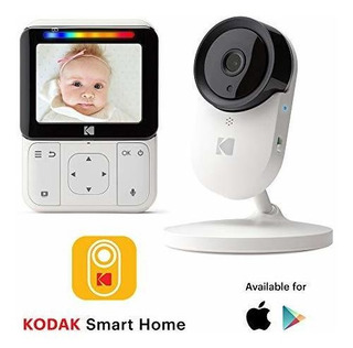 Monitor Bebé Kodak Cherish C220 Vigilabebé Wifi Con Cámar