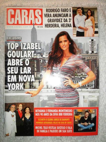 Revista Caras Nº 970 Izabel Goulart / Rodrigo Faro