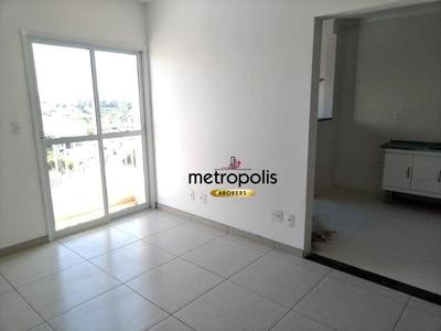 Apartamento Com 2 Dormitórios Para Alugar, 74 M² Por R$ 1.600/mês - Barcelona - São Caetano Do Sul/sp - Ap2126