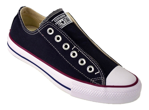 Zapatilla Converse All Star Slip Sin Cordon Original Negro