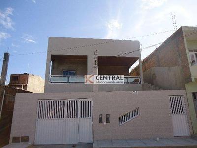 Casa Residencial À Venda, Centro, São Sebastião Do Passé. - Ca0192