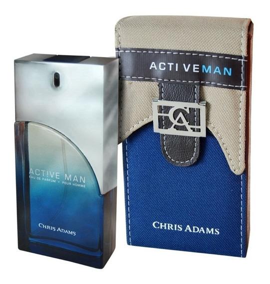 Perfume Chris Adams Active Man 100 Ml Edp
