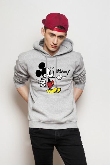 Buzo Con Chompa Estampado Personalizado Diseño Mickey Mouse