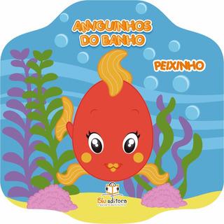Livro Infantil Amiguinhos Do Banho Peixinho Livro De Banho