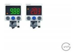 Pressostato Digital 12...24v 2 X Pnp Pressão De 0.....10bar