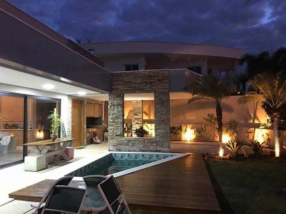 Casa À Venda, 230 M² Por R$ 1.380.000 - Condomínio Terras Do Cancioneiro - Paulínia/sp - Ca11548