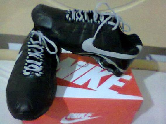 Tenis Nike Shox Junior Preto E Cinza Nº43/44 Original!!!