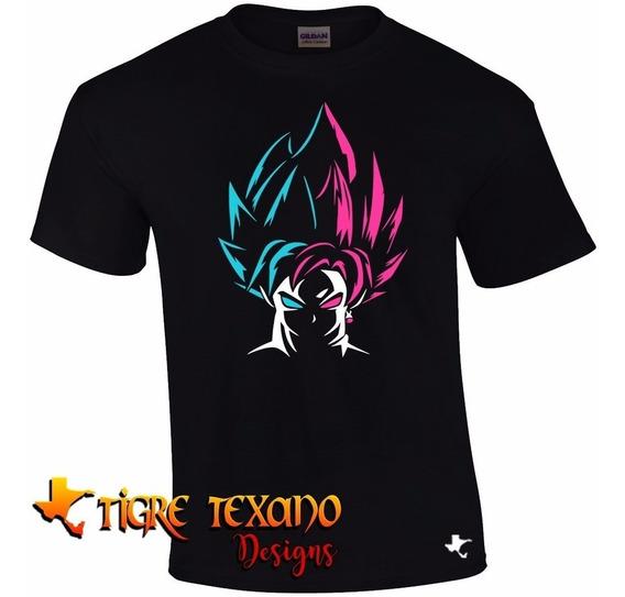 Playera Anime Dragon Ball Goku Bicol By Tigre Texano Designs