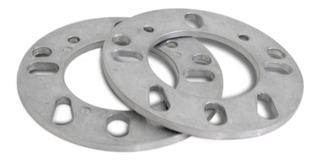 Kit 2 Espaçador Roda 4x98 4x100 4x108 5x100 5x112 5x114 6mm Alumínio